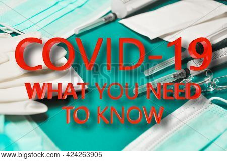 Covid-19 Sign For Creating 3d Illustration Posters, Banners Or News Articles About Coronavirus. Coro