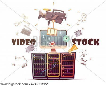Video Stock For All Type Hd Video Clips Download From Global Contributors Community Retro Cartoon Ve