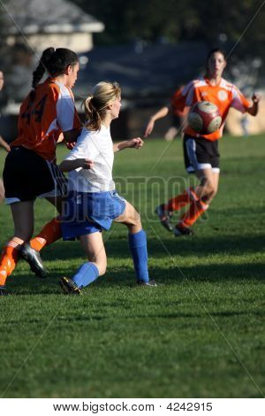 Womens Soccer, Football ,Action