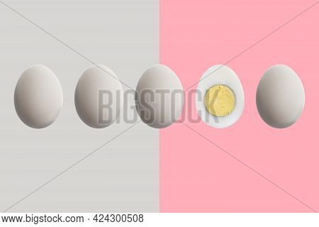 The Individuality Concept, A Single Unique Egg Among The Usual Ones, Difference Idea