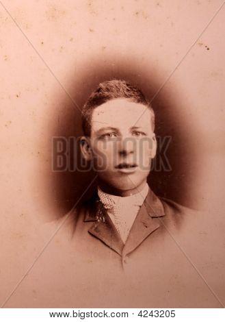 Antique, Photograph, Man, Vintage,