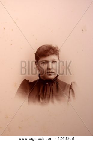 Antique, Photograph, Woman, Vintage,