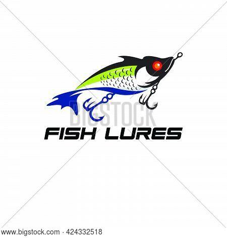 Lure Fishing Hobbies Logo Exclusive Design Inspiration