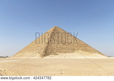 Northern Pyramid Is The Largest Of The Three Large Pyramids Located On The Territory Of The Dahshur