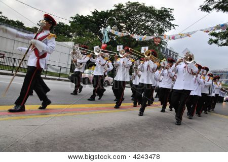 Singapore President's Changing Of Guards Parade