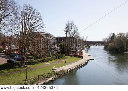Views Along The Thames At Maidenhead, Berkshire In The Uk, Taken On The 30th March 2020