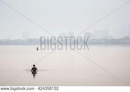 Ho Tai Lake In Hanoi Vietnam