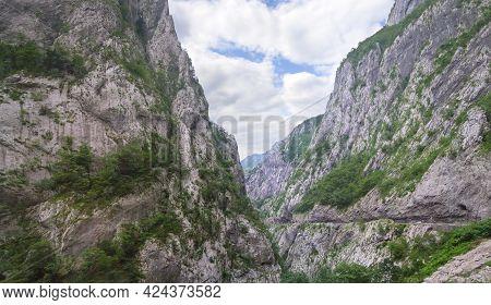 Beautiful View Of Tara River Canyon. Montenegro.