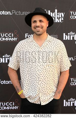 LOS ANGELES - JUN 16:  Adam Sigal at The Birthday Cake LA Premiere at the Fine Arts Theater on June 16, 2021 in Beverly Hills, CA
