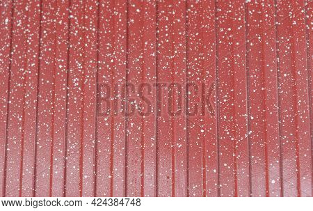 Industrial Grid Plate Background