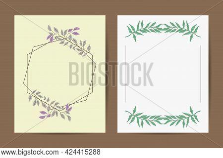 Wedding Invitation, Floral Invite Card Design: Peach Lavender Pink Garden Rose, Succulent, Wax, Euca