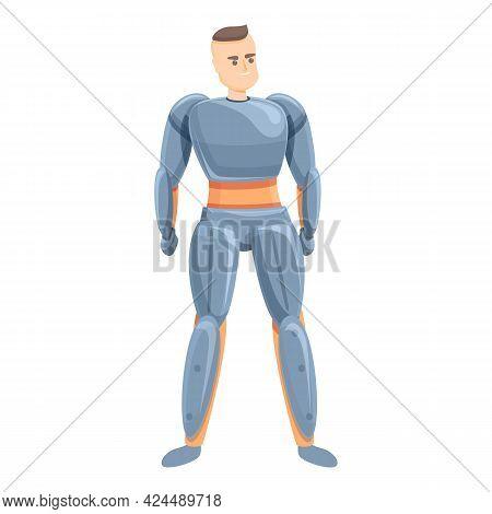 Fantastical Exoskeleton Icon. Cartoon Of Fantastical Exoskeleton Vector Icon For Web Design Isolated