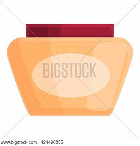 Korean Body Cream Icon. Cartoon Of Korean Body Cream Vector Icon For Web Design Isolated On White Ba