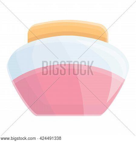 Korean Nourishing Cream Icon. Cartoon Of Korean Nourishing Cream Vector Icon For Web Design Isolated