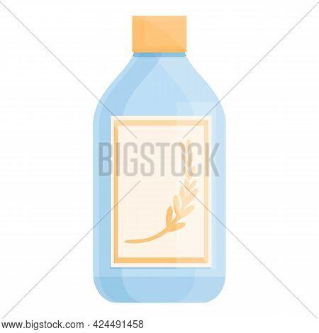 Korean Hair Balm Icon. Cartoon Of Korean Hair Balm Vector Icon For Web Design Isolated On White Back