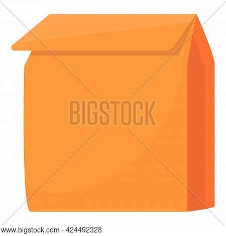 Takeaway Package Icon. Cartoon Of Takeaway Package Vector Icon For Web Design Isolated On White Back