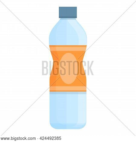 Takeaway Water Icon. Cartoon Of Takeaway Water Vector Icon For Web Design Isolated On White Backgrou