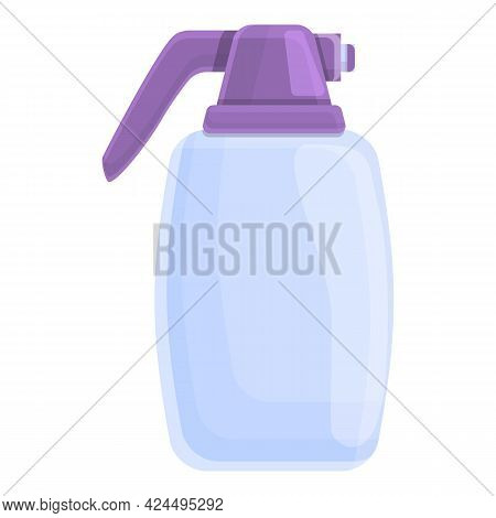 Germ Spray Icon. Cartoon Of Germ Spray Vector Icon For Web Design Isolated On White Background