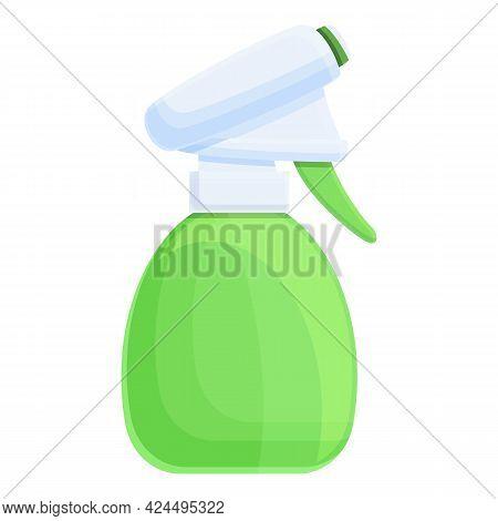 Bath Spray Icon. Cartoon Of Bath Spray Vector Icon For Web Design Isolated On White Background