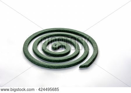 A Mosquito Coil Is A Mosquito-repelling Incense, Usually Made Into A Spiral, And Typically Made Usin