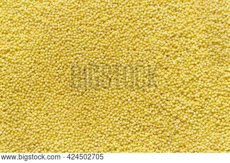 Millet Background, Cereal Crops, The Concept Of Healthy Eating