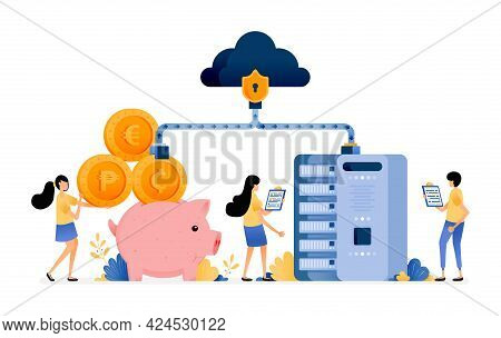 Vector Design Of Network Security On Banking And Financial System Databases. Customer Data Protectio