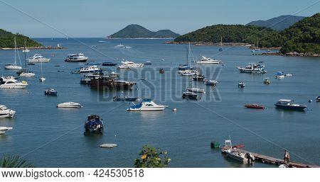 Sai Kung, Hong Kong 24 July 2020: Hong Kong yacht club