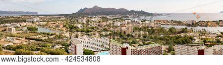 Alcudia panorama on Majorca island