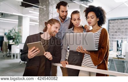 Technology Software Business Office Programming People Concept