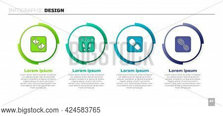 Set Seagull Paw Footprint, Safe Distance, Human Footprints Shoes And . Business Infographic Template