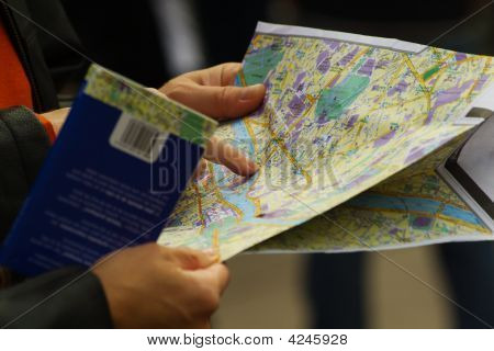 Pointing At The Map