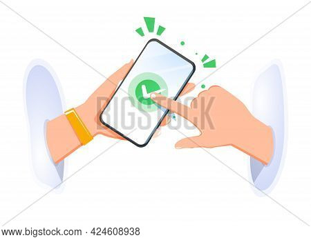 Dealing Online, Remote Conclusion Of A Transaction, Mobile Phone Deal. Remote Assistance, Mobile Sup