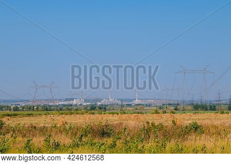 Kurchatov Nuclear Power Plant In Kursk Region. Kursk Npp Is Identical To The Damaged Chernobyl Npp B