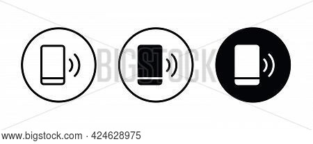 Phone Call Icon. Mobile , Hotline, Smartphone Icons Button, Vector, Sign, Symbol, Logo, Illustration