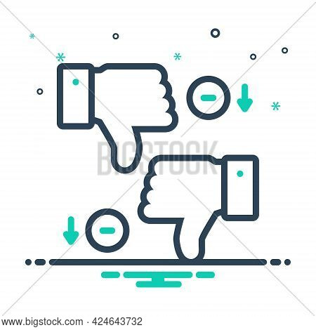 Mix Icon For Disadvantages Unlike Thumb Loss Deficit Scathe