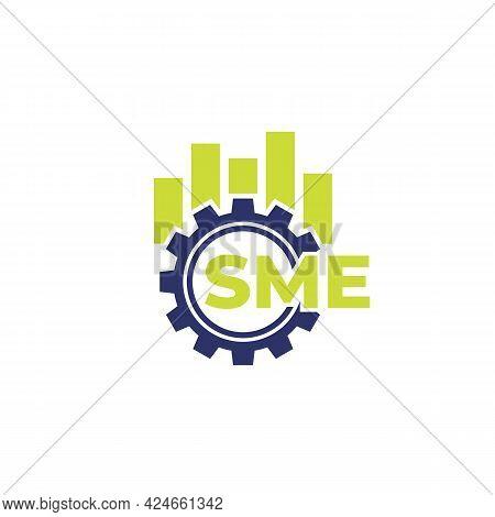 Sme, Small And Medium Enterprise, Vector Icon