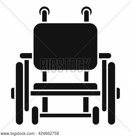 Wheelchair Icon. Simple Illustration Of Wheelchair Vector Icon For Web Design Isolated On White Back