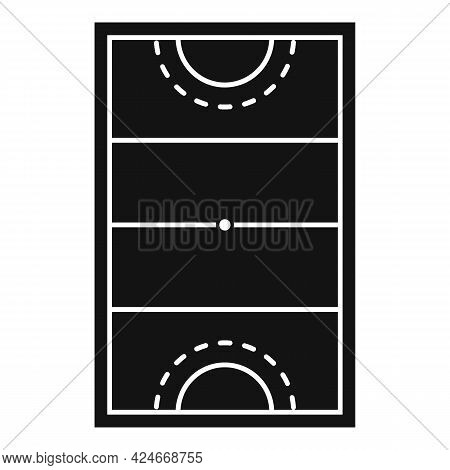Hurling Field Icon. Simple Illustration Of Hurling Field Vector Icon For Web Design Isolated On Whit