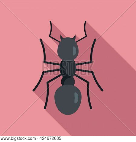 Team Ant Icon. Flat Illustration Of Team Ant Vector Icon For Web Design