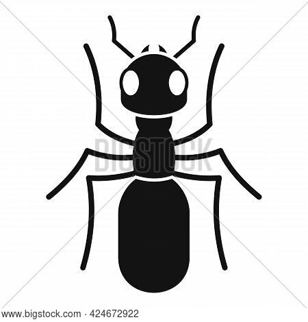 Insect Ant Icon. Simple Illustration Of Insect Ant Vector Icon For Web Design Isolated On White Back
