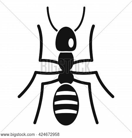 Soldier Ant Icon. Simple Illustration Of Soldier Ant Vector Icon For Web Design Isolated On White Ba