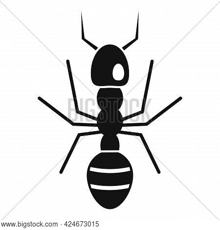 Farmer Ant Icon. Simple Illustration Of Farmer Ant Vector Icon For Web Design Isolated On White Back