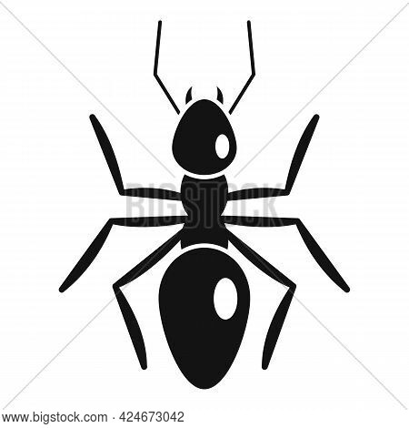 Nature Ant Icon. Simple Illustration Of Nature Ant Vector Icon For Web Design Isolated On White Back