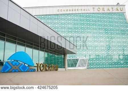 Ufa, Russia - 15 June 2021: View At Congress Hall Toratau.