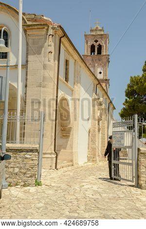 Church At The Village Of Lefkara On Cyprus