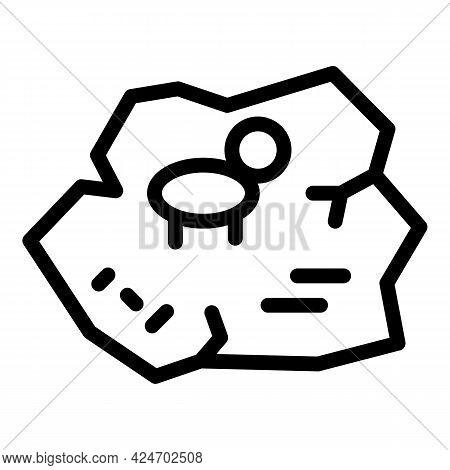 Expedition Icon. Outline Expedition Vector Icon For Web Design Isolated On White Background