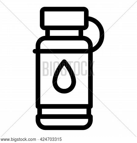 Expedition Water Bottle Icon. Outline Expedition Water Bottle Vector Icon For Web Design Isolated On