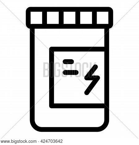 Runner App Pills Icon. Outline Runner App Pills Vector Icon For Web Design Isolated On White Backgro