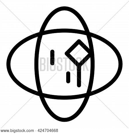 Hologram Projection Experience Icon. Outline Hologram Projection Experience Vector Icon For Web Desi
