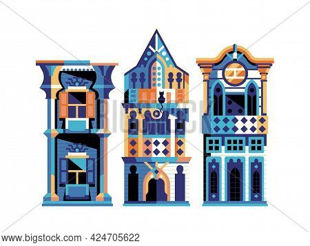 Ottoman Wooden Houses And Turkish Manors In Flat